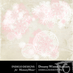 Dreamy Winter Accents Pack-$1.99 (Indigo Designs)