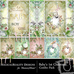 Baby's 1st Christmas Combo Pack-$3.99 (MagicalReality Designs)