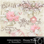 Dreamy Winter Cluster Pack-$1.99 (Indigo Designs)