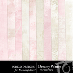 Dreamy Winter Paper Pack-$2.99 (Indigo Designs)