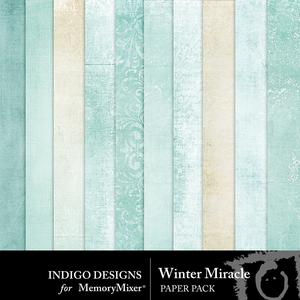 Wintermiracle papers medium