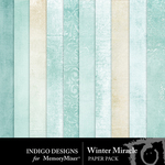 Winter Miracle Paper Pack-$2.99 (Indigo Designs)