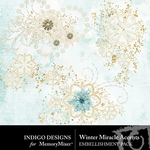 Winter Miracle Accents Pack-$1.99 (Indigo Designs)