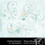 Winter Miracle Swirls Pack-$1.99 (Indigo Designs)