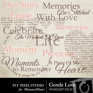 Gentlelove word arts medium