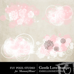 Gentle Love Stamps-$1.99 (Fly Pixel Studio)