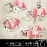 Gentle Love Clusters-$1.99 (Fly Pixel Studio)