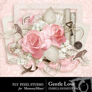 Gentlelove embellishments medium