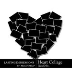 Heart Collage QM-$2.49 (Lasting Impressions)