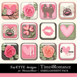 Time 4 Romance Flairs-$1.99 (Fayette Designs)