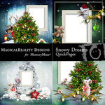 Snowy Dreams QP-$3.49 (MagicalReality Designs)