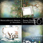 Snowy Dreams QP PP Add On-$2.99 (MagicalReality Designs)
