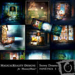 Snowy Dreams PP 1-$3.25 (MagicalReality Designs)