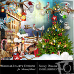 Snowy Dreams Emb-$3.49 (MagicalReality Designs)