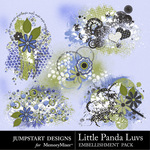 Little Panda Luvs Scatterz-$2.49 (Jumpstart Designs)