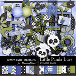 Little Panda Luvs Combo-$4.79 (Jumpstart Designs)