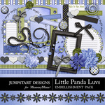 Little Panda Luvs Add On-$3.99 (Jumpstart Designs)