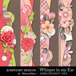Whisper in my Ear Borders-$2.49 (Jumpstart Designs)