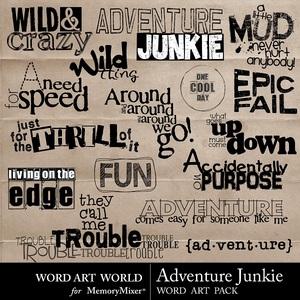 Adventure junkie medium