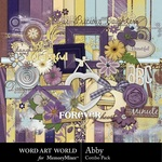 Abby Combo Pack-$4.99 (Word Art World)