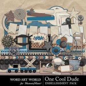 One cool dude elements medium