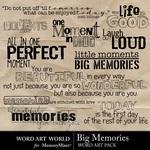 Big memories small