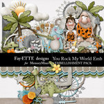 You Rock My World Emb-$3.49 (Ettes and Company by Fayette)