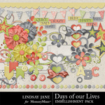 Days of Our Lives Emb-$3.49 (Lindsay Jane)