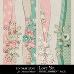Love You Borders-$1.99 (Lindsay Jane)