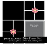 Page Builder Square QuickMix 9 Photos Set 1-$2.25 (Jayme Elggren)