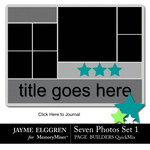 Page Builder Square QuickMix 7 Photos Set 1-$2.25 (Jayme Elggren)