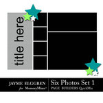 Page Builder Landscape QuickMix 6 Photos Set 1-$2.25 (Jayme Elggren)