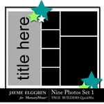 Page Builder Square QuickMix 6 Photos Set 1-$2.25 (Jayme Elggren)