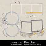 Dog Days Frames-$1.99 (Lindsay Jane)