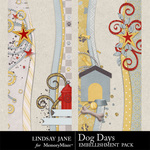 Dog Days Borders-$1.99 (Lindsay Jane)