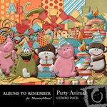 Party Animal Combo Pack-$4.49 (Albums to Remember)