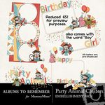 Party Animal Cluster Pack-$2.00 (Albums to Remember)