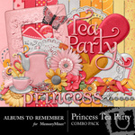 Princess TeaParty Combo Pack-$4.49 (Albums to Remember)