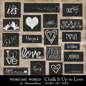 Chalk it up to love medium