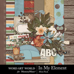 In My Element Mini Pack-$3.99 (Word Art World)