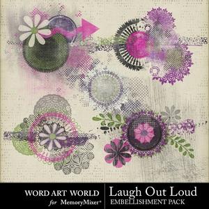 Laugh out loud paint clusters medium
