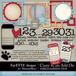 Crazy 4 Cats Add On Pack-$4.99 (Fayette Designs)