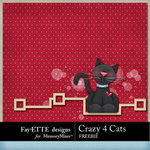 Crazy 4 Cats Freebie-$0.00 (Ettes and Company by Fayette)