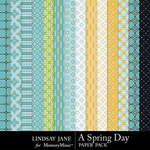 A Spring Day LJ Pattern Paper Pack-$3.49 (Lindsay Jane)
