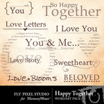 Happy Together WordArt-$2.49 (Fly Pixel Studio)