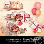 Happy Together Cluster Pack-$1.99 (Fly Pixel Studio)