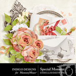 Special Moment Embellishment Pack-$2.99 (Indigo Designs)