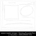 Stitching Essentials 1 Embellishment Pack-$1.99 (Sweet Poppy Studio)