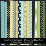 Dream the Day Away Paper Pack-$3.49 (Jumpstart Designs)
