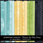 Dream the Day Away ADD ON Paper Pack-$2.99 (Jumpstart Designs)